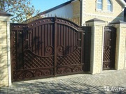 Ворота кованые - foto 1