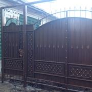Ворота кованые - foto 3
