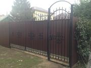 Ворота кованые - foto 4