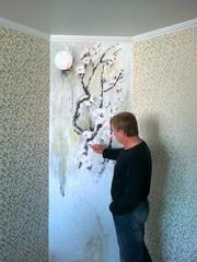 Роспись стен в помещениях - foto 0
